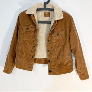 GAP | Sherpa Lined Cord Jacket